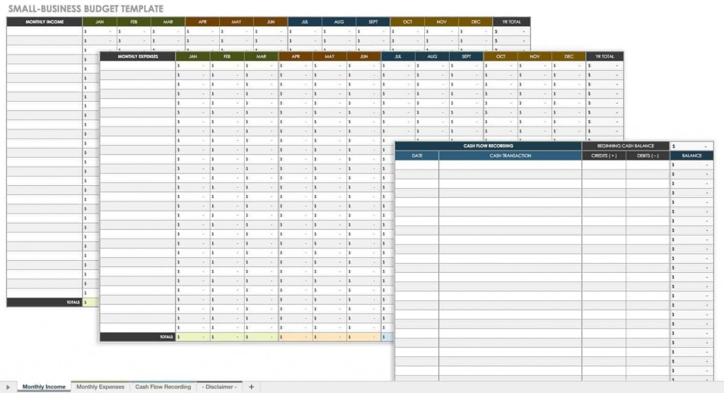 010 Stirring Monthly Busines Expense Template Excel Free Highest Quality Large