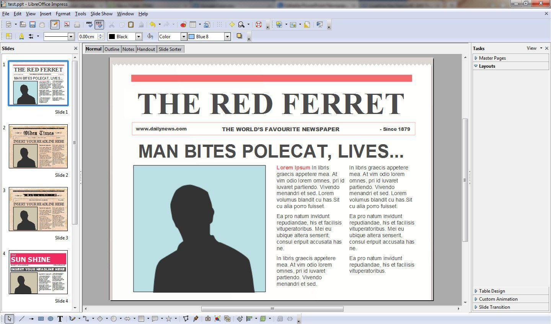 010 Stirring Word Newsletter Template Free Download Sample  Document M 2007 DesignFull