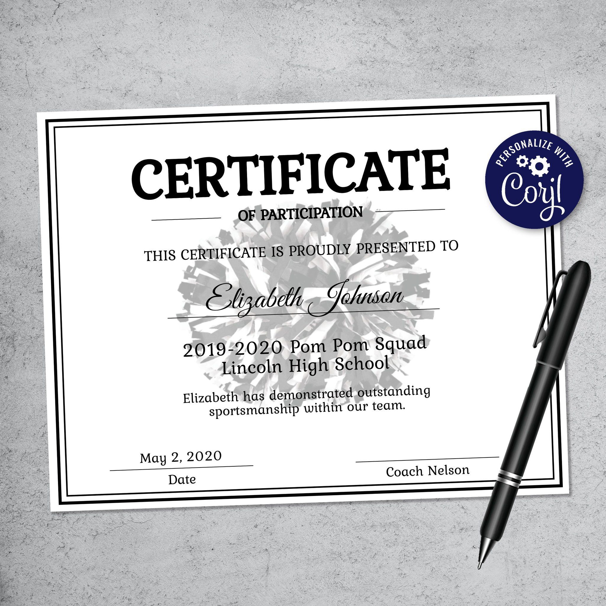 010 Striking Free Printable Basketball Certificate Template Example  TemplatesFull