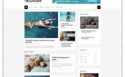 010 Striking Free Template For Blogger Picture  Blog Best Photographer Xml Download