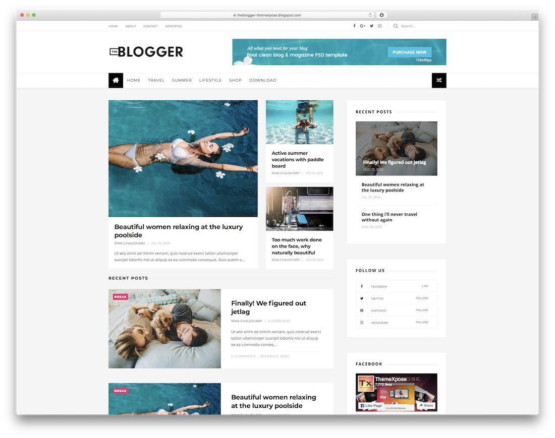 010 Striking Free Template For Blogger Picture  Blog Best Photographer Xml DownloadFull