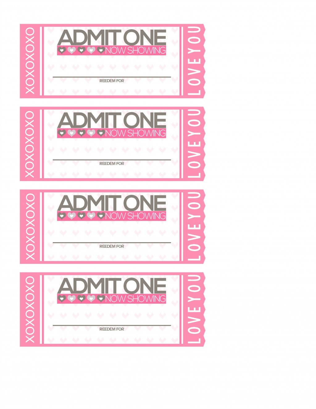 010 Striking Print Ticket Free Template Image  Your OwnLarge