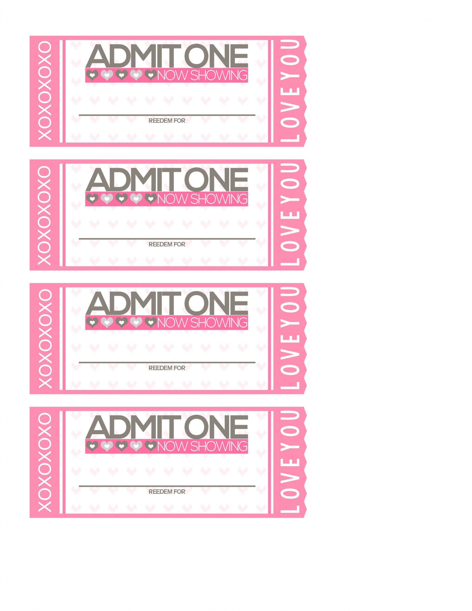 010 Striking Print Ticket Free Template Image  Your Own1920