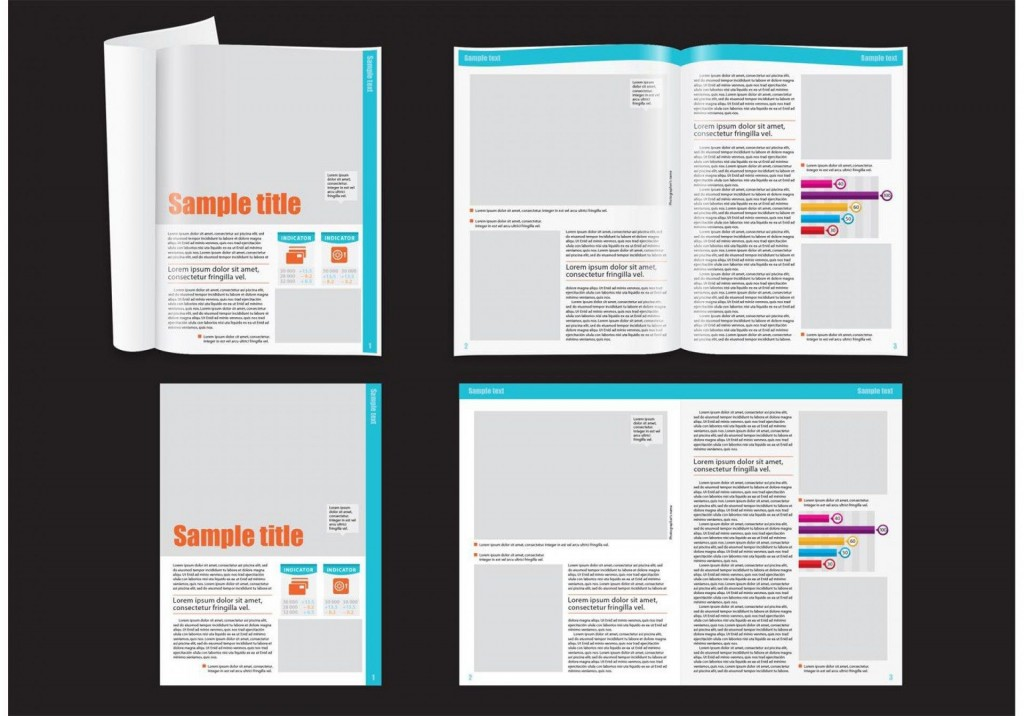 010 Striking School Magazine Layout Template Free Download Inspiration Large