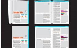 010 Striking School Magazine Layout Template Free Download Inspiration