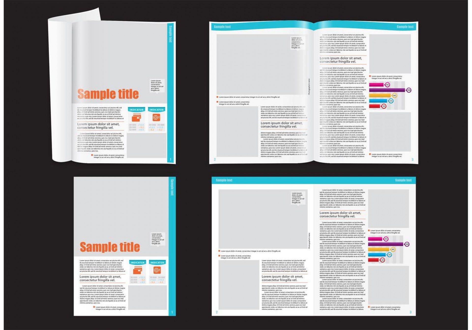 010 Striking School Magazine Layout Template Free Download Inspiration Full