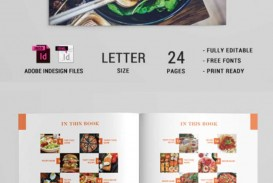 010 Stunning Create Your Own Cookbook Template Photo  Free