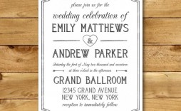 010 Stunning M Word Invitation Template Image  Microsoft Card Wedding Free Download Editable