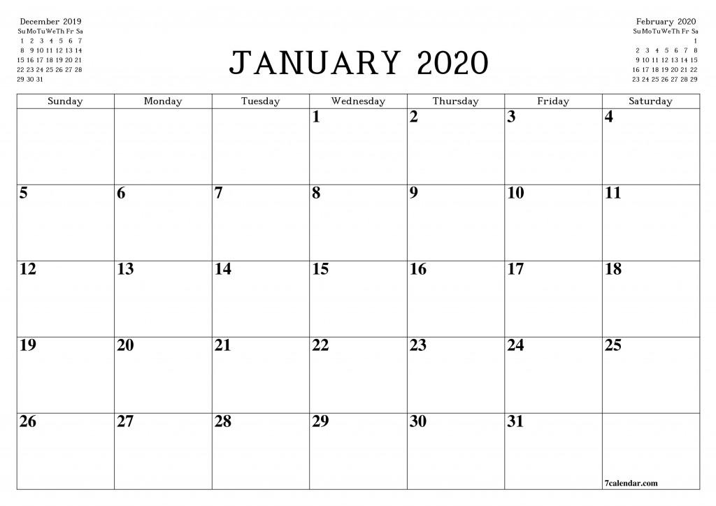 010 Stupendou Blank Monthly Calendar Template Pdf Idea  2019 PrintableLarge