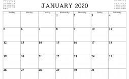 010 Stupendou Blank Monthly Calendar Template Pdf Idea  2019 Printable
