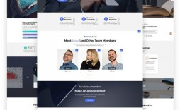 010 Stupendou Creative One Page Website Template Free Download Design