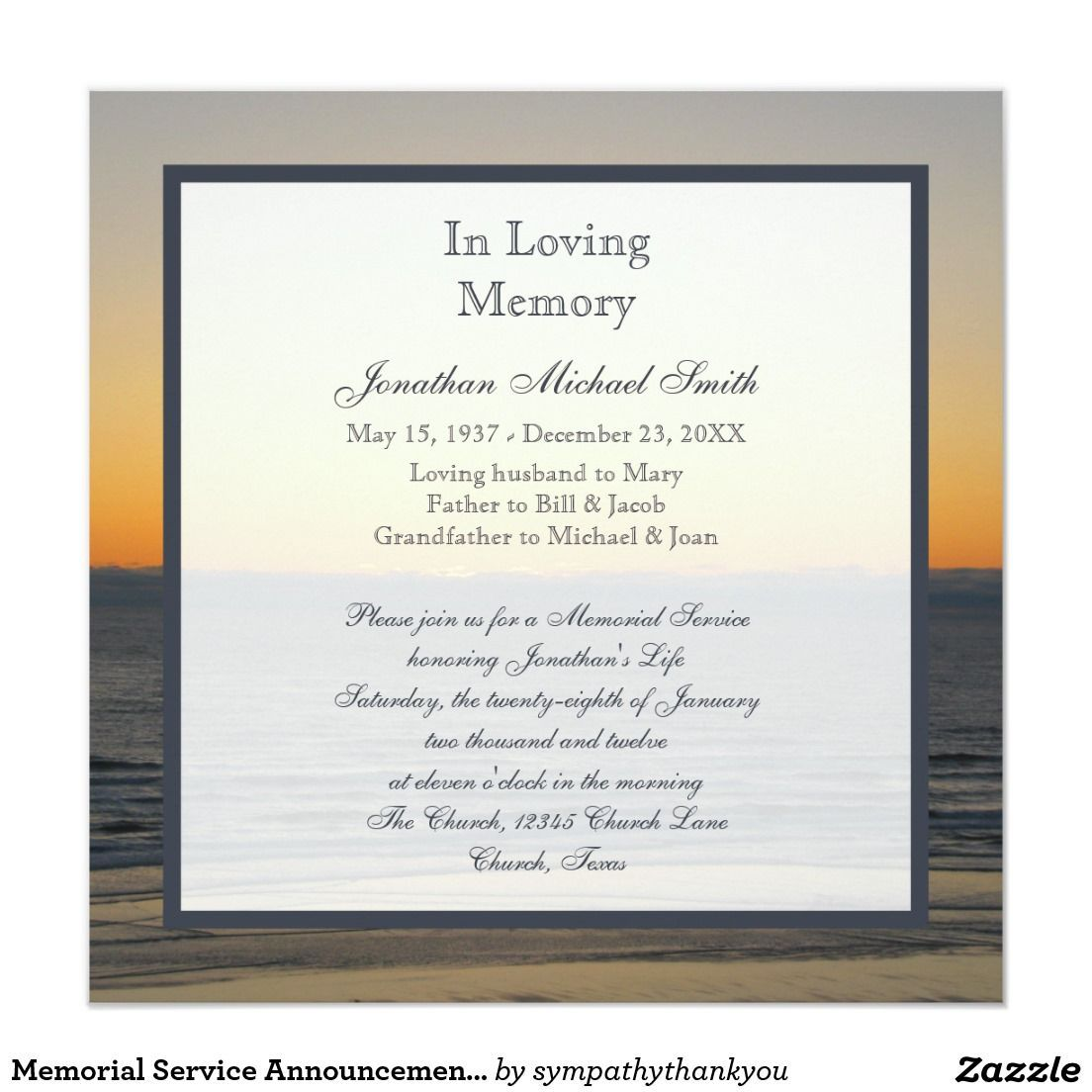 010 Stupendou Funeral Invitation Template Free Picture  Printable Service WordFull