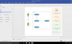 010 Stupendou Use Case Diagram Template Visio 2010 Concept  Uml Model Download Clas