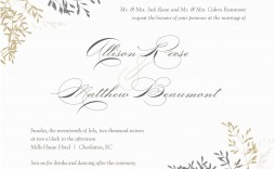 010 Stupendou Wedding Invitation Template Word Highest Quality  Invite Wording Uk Anniversary Microsoft Free Marriage
