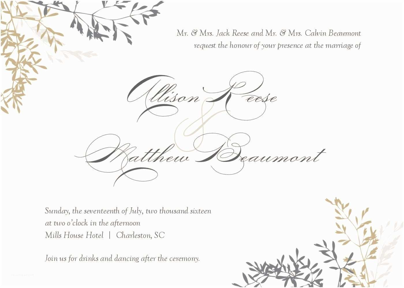 010 Stupendou Wedding Invitation Template Word Highest Quality  Invite Wording Uk Anniversary Microsoft Free MarriageFull