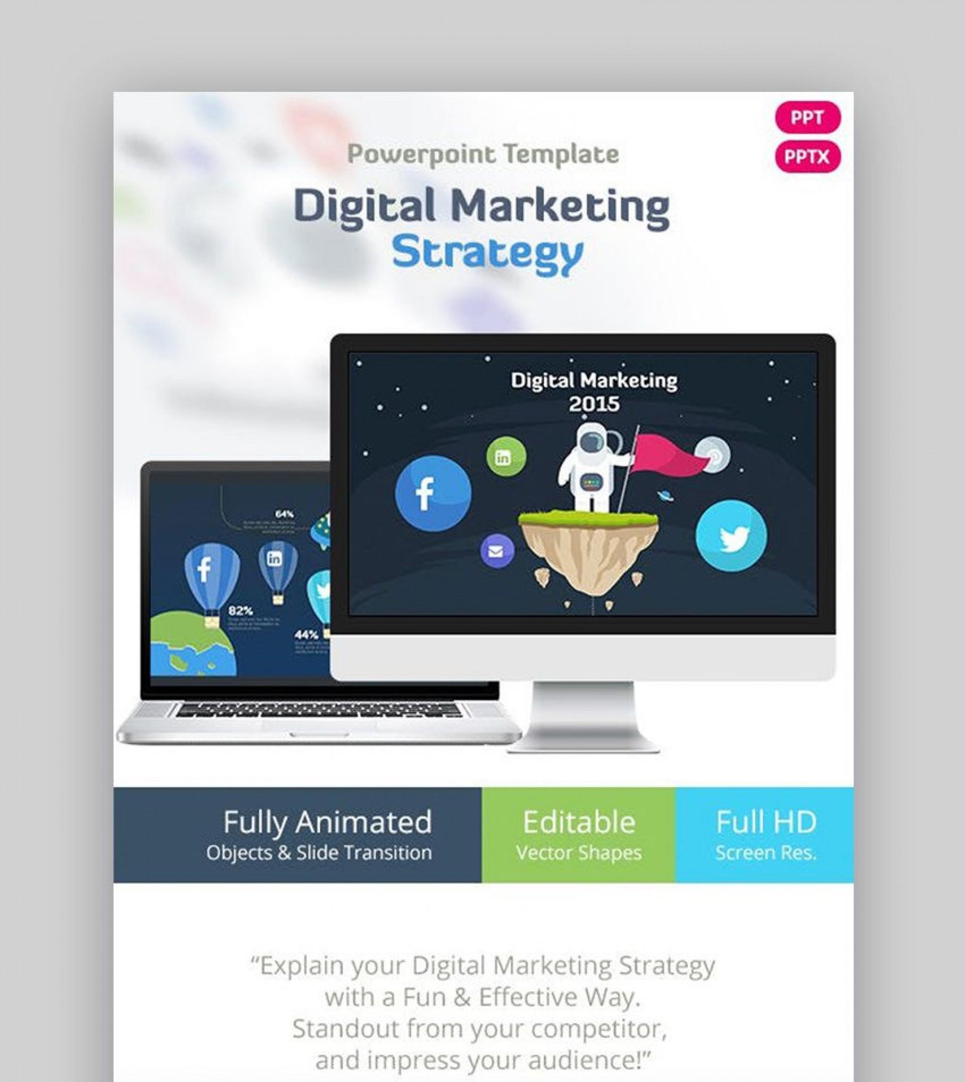 010 Surprising Digital Marketing Plan Template Ppt Design  Presentation Free Slideshare1920