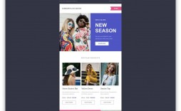 010 Surprising Email Newsletter Template Free Download Inspiration  Html Busines