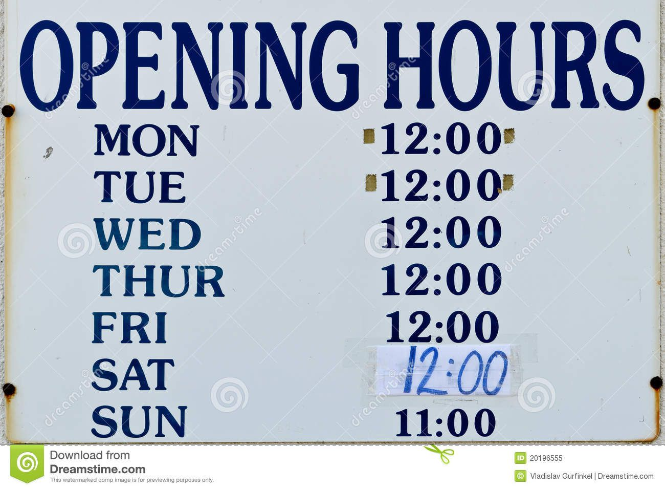 010 Surprising Hour Of Operation Template Concept  Restaurant EmailFull