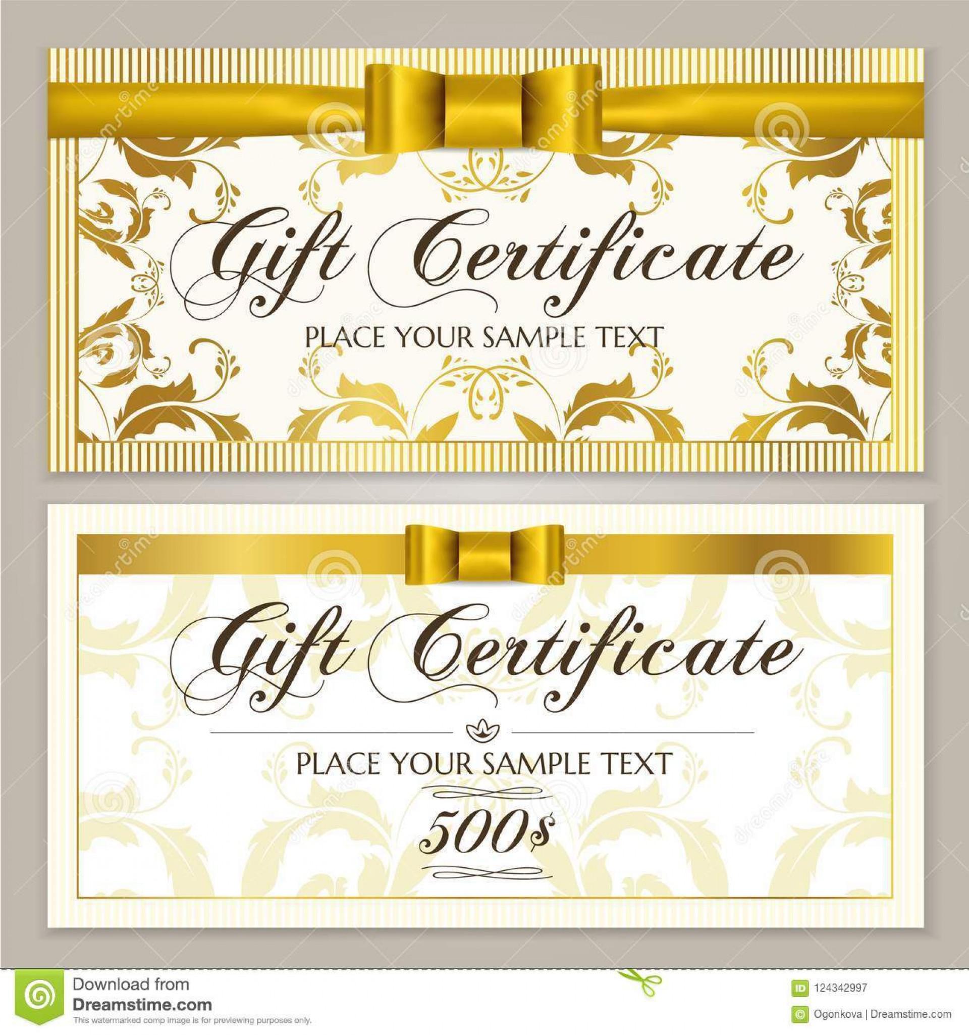 010 Surprising Restaurant Gift Certificate Template High Resolution  Templates Card Word Voucher Free1920