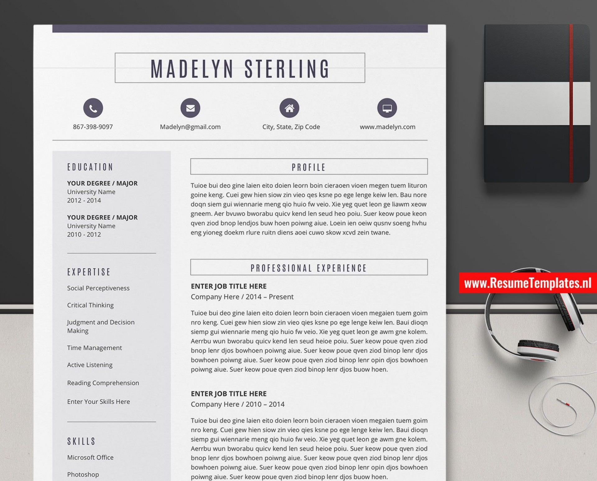 010 Surprising Sample Curriculum Vitae Template Download Photo  Professional Pdf Free For Student1920