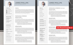 010 Surprising Simple Professional Cv Template Word Highest Quality