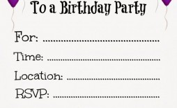 010 Top Free Online Birthday Invitation Card Maker With Photo High Definition  1st