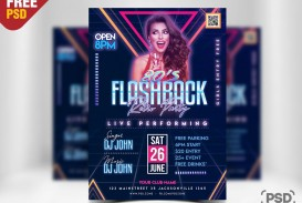 010 Top Free Party Flyer Template For Photoshop Inspiration  Pool Psd Download