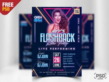 010 Top Free Party Flyer Template For Photoshop Inspiration  Pool Psd Download360