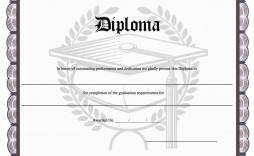 010 Top Free Printable High School Diploma Template Resolution  With Seal