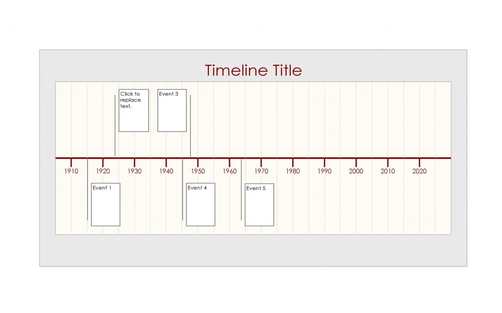 010 Top Timeline Template In Word Highest Clarity  2010 Wordpres FreeLarge