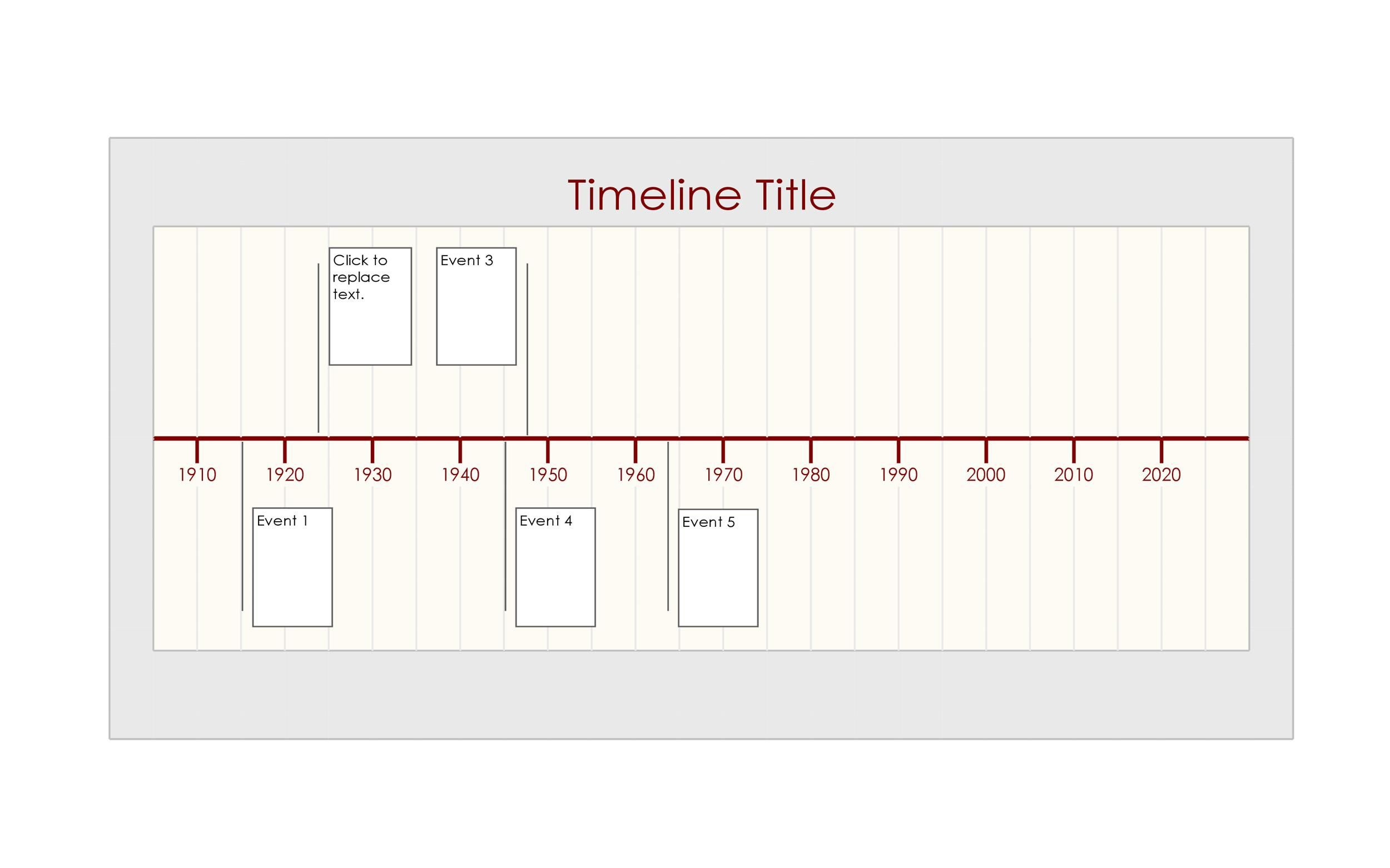010 Top Timeline Template In Word Highest Clarity  2010 Wordpres FreeFull