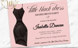 010 Unbelievable Bachelorette Party Invitation Template Word Free Idea