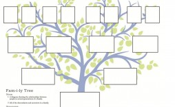 010 Unbelievable Family Tree Template Word Free Download Image