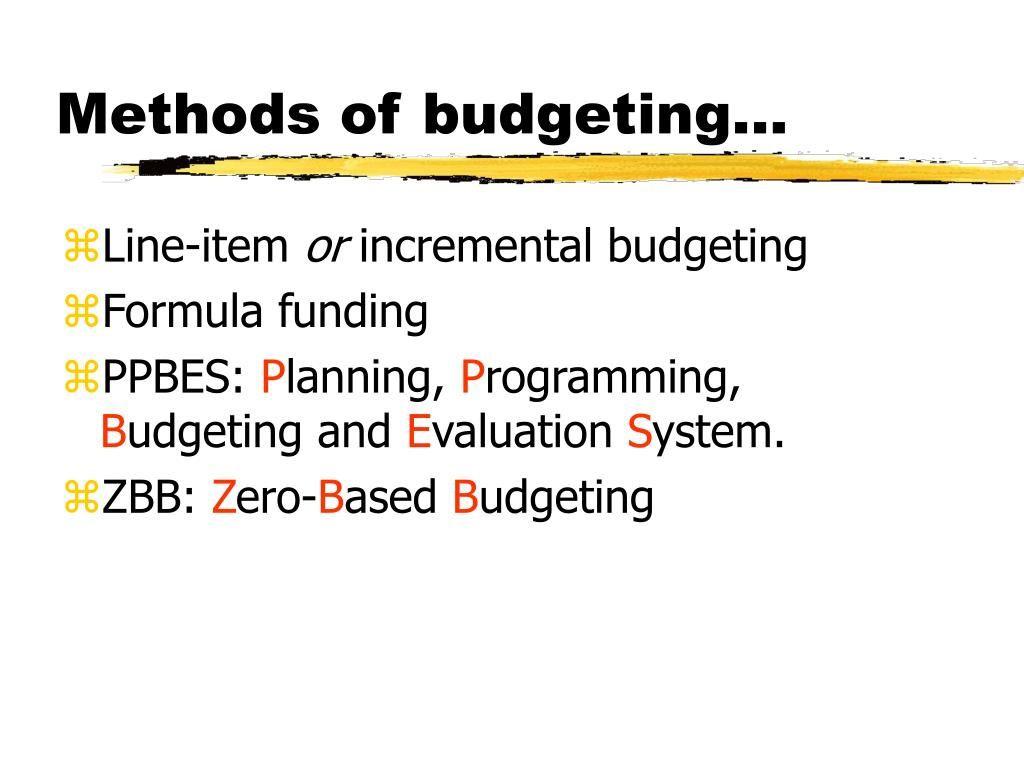 010 Unbelievable Line Item Budget Formula Photo Full