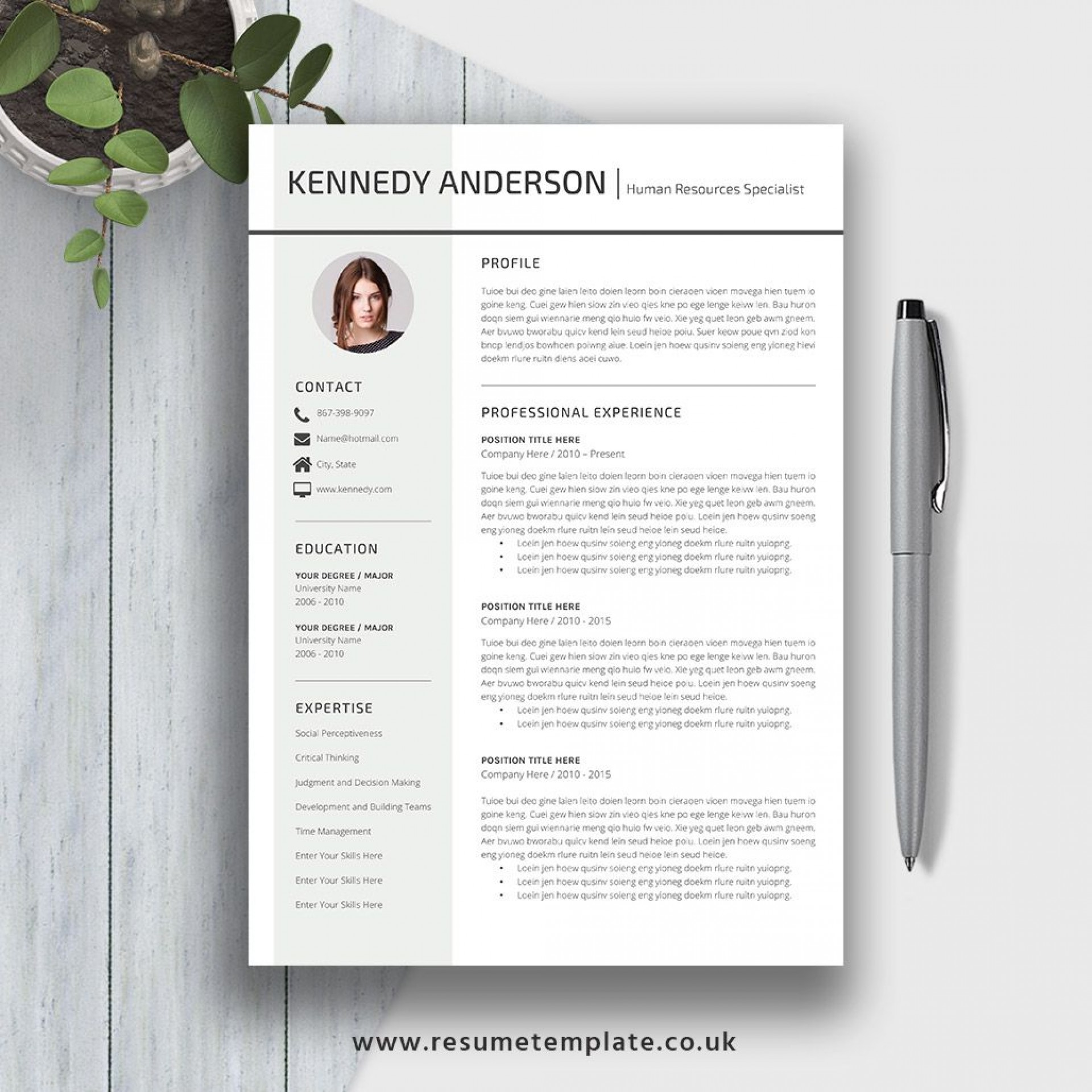 010 Unforgettable Word Resume Template 2020 Highest Clarity  Microsoft M1920