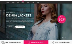 010 Unique Free Ecommerce Website Template Download Example  Shopping Cart Bootstrap 3