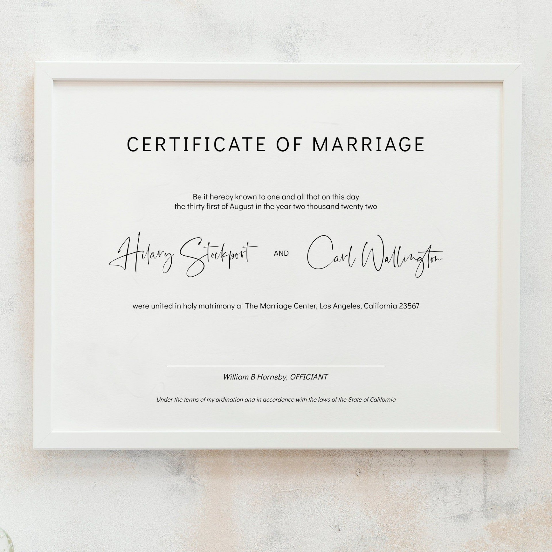 010 Unique Free Marriage Certificate Template Idea  Renewal Translation From Spanish To English Wedding Download1920