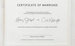 010 Unique Free Marriage Certificate Template Idea  Renewal Translation From Spanish To English Wedding Download