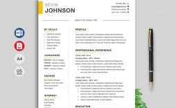 010 Unique Professional Resume Template 2019 Free Download Inspiration  Cv
