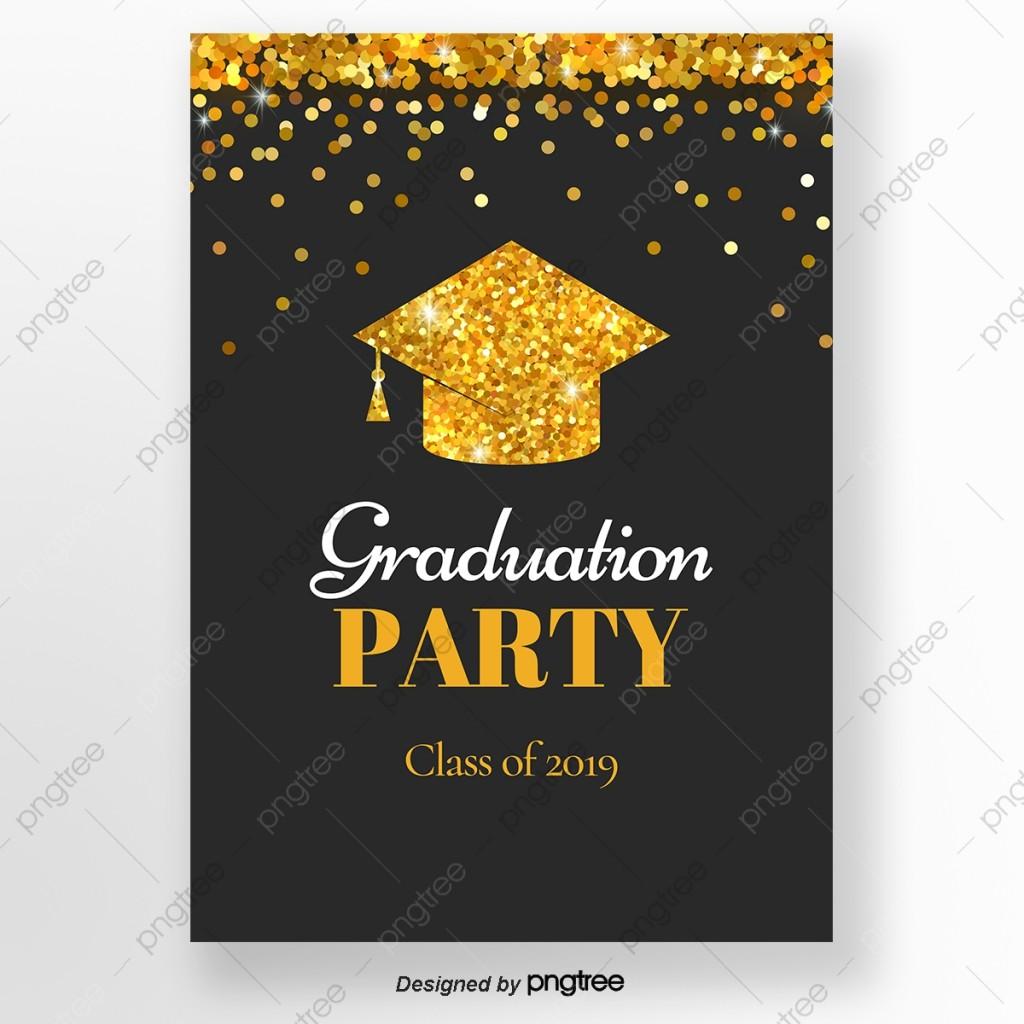 010 Unusual Graduation Party Invitation Template Photo  Microsoft Word 4 Per PageLarge