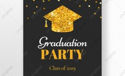 010 Unusual Graduation Party Invitation Template Photo  Microsoft Word 4 Per Page