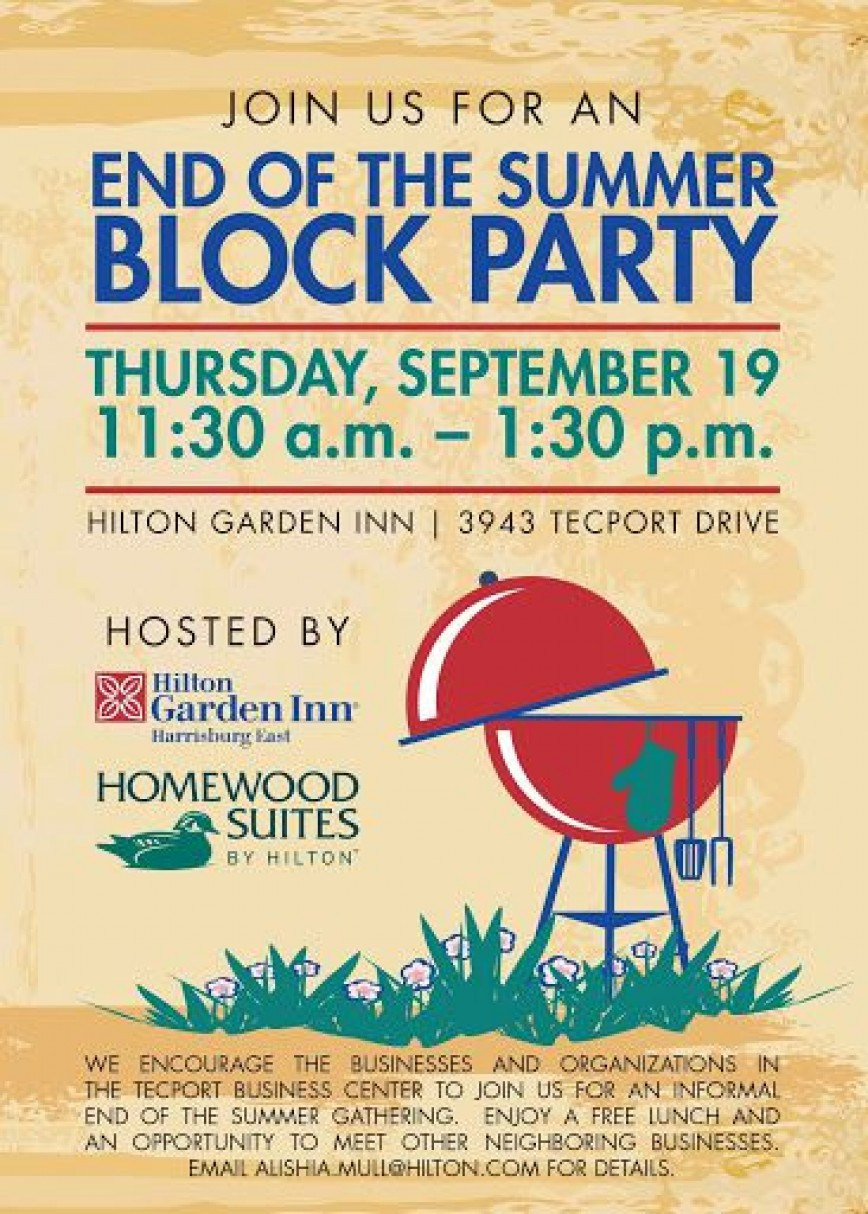 010 Wonderful Block Party Flyer Template Photo  Templates