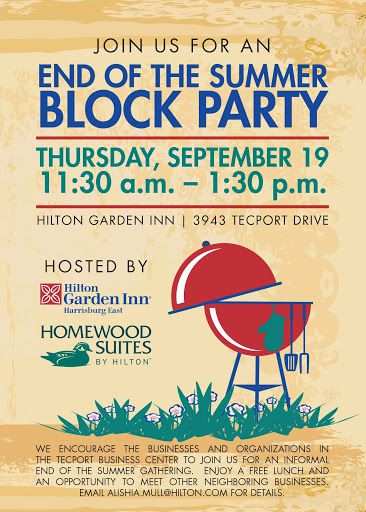 010 Wonderful Block Party Flyer Template Photo  TemplatesFull