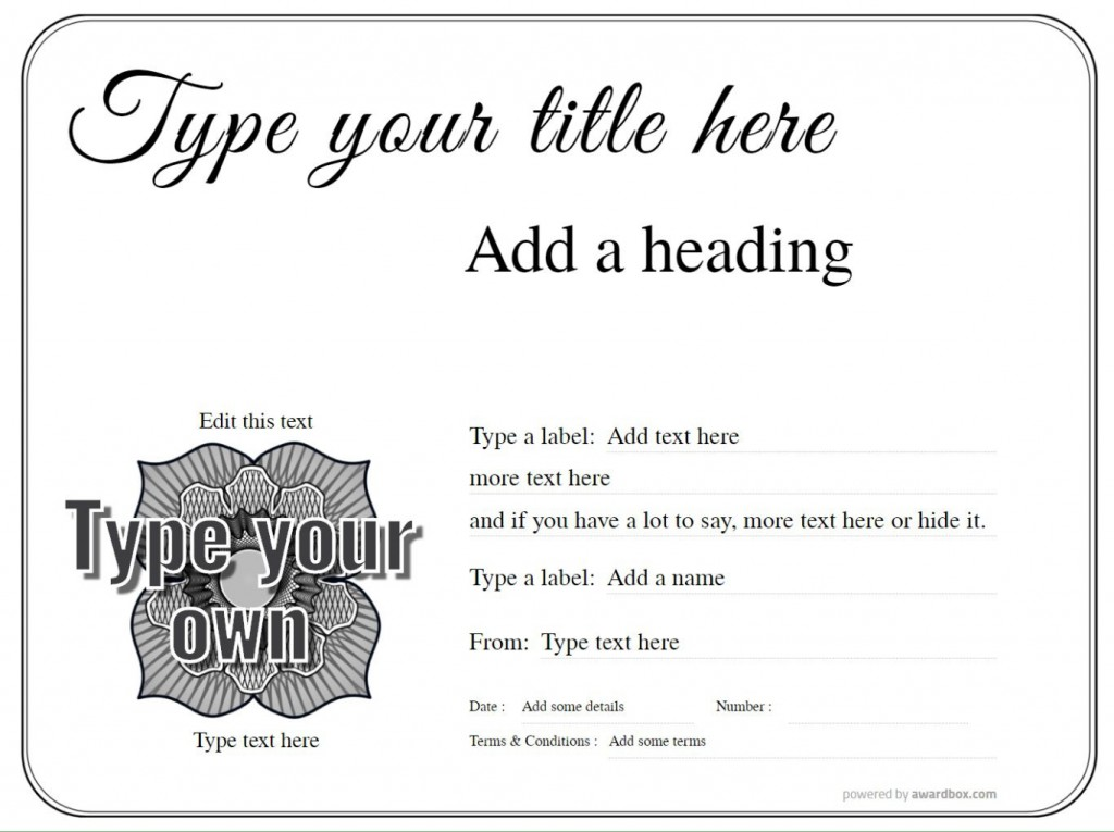010 Wonderful Free Blank Certificate Template High Def  Templates Downloadable Printable And Award Gift For WordLarge