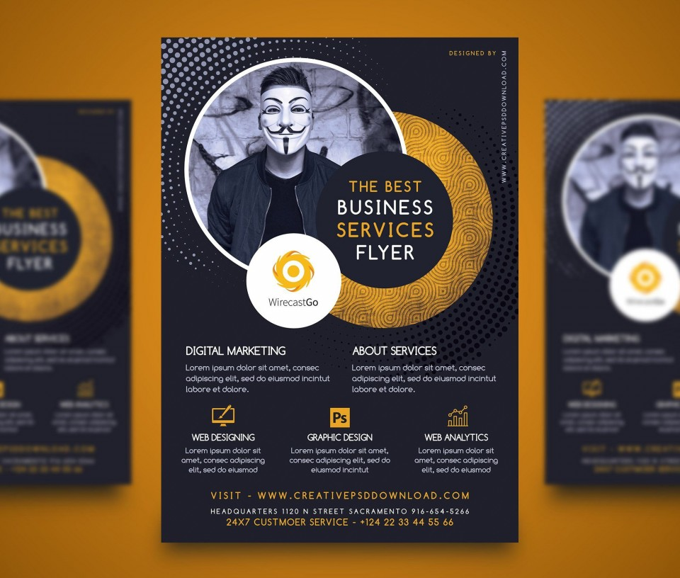 010 Wonderful Free Download Flyer Template Picture  Photoshop For Microsoft Word Downloadable Publisher960