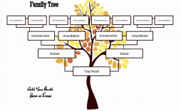 010 Wonderful Free Editable Family Tree Template For Mac Concept
