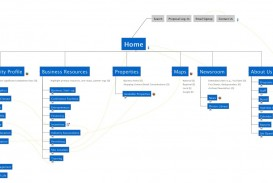 010 Wonderful Website Site Map Template Sample