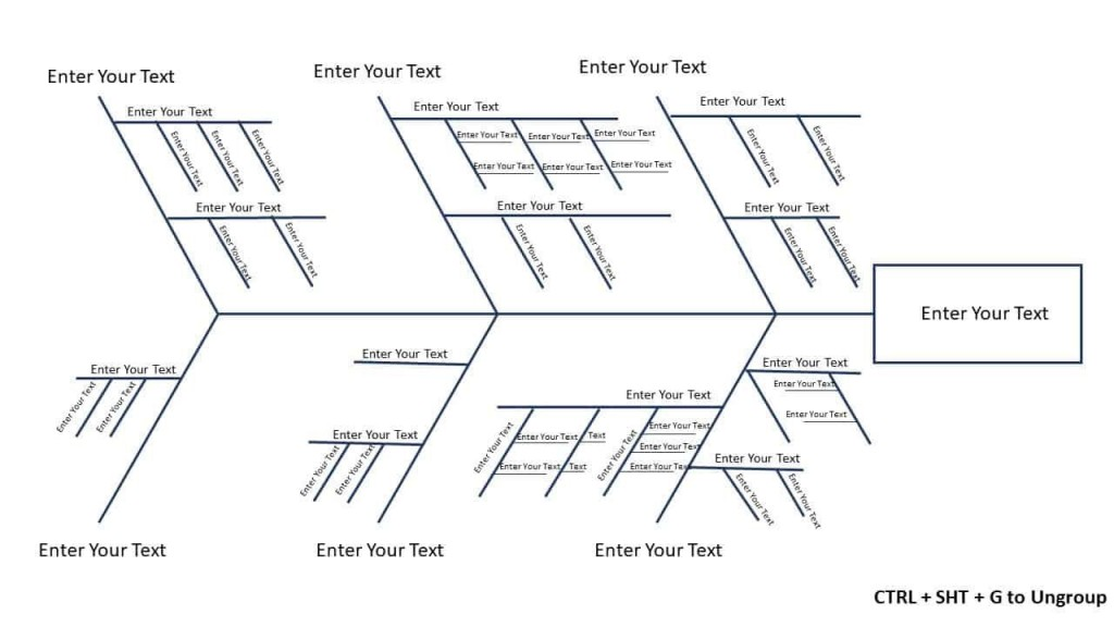 010 Wondrou Free Fishbone Diagram Template Microsoft Word High Resolution Large