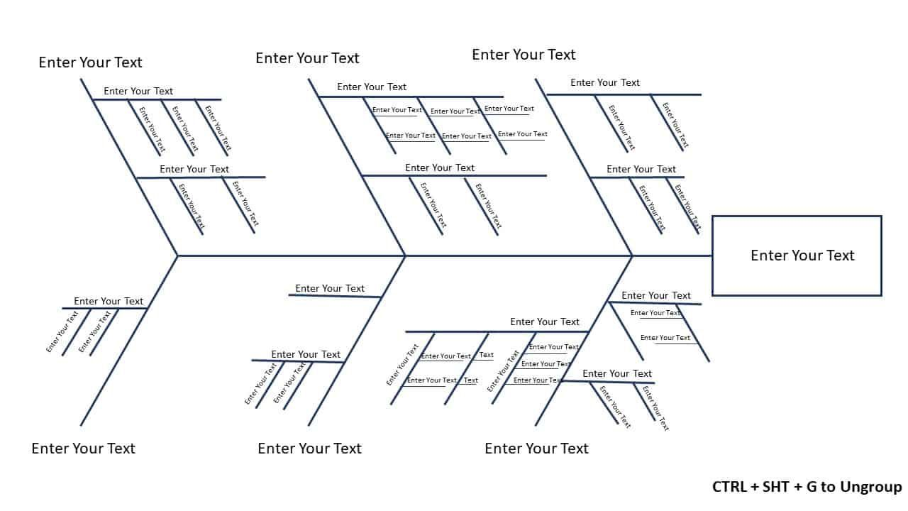 010 Wondrou Free Fishbone Diagram Template Microsoft Word High Resolution Full