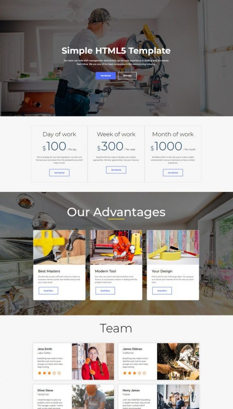 010 Wondrou Simple Web Page Template High Def  Html Website Free Download In Design Using And Cs480